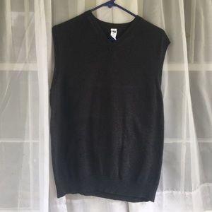 Gap charcoal sweater vest